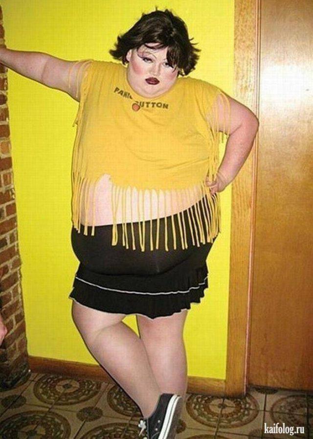 Смешные толстяки (100 фото)