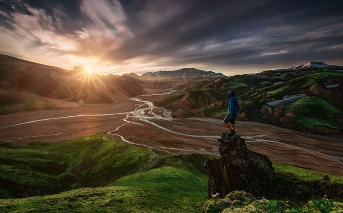 Красивые фото людей на природе (145 фото)