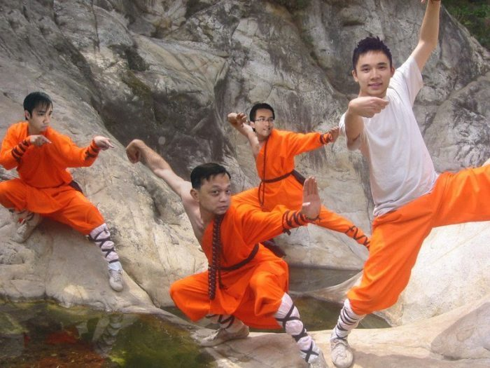 Шаолиньские монахи (70 фото)
