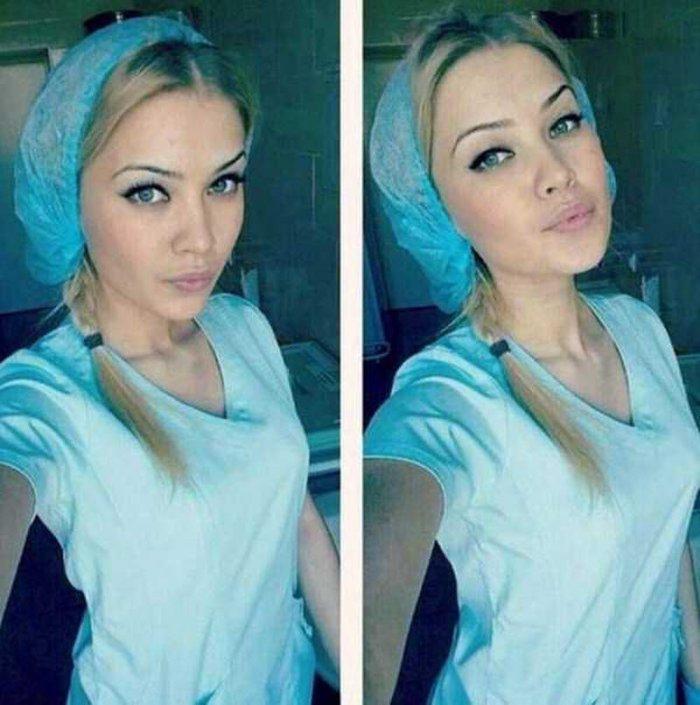 Симпатичные девушки медицинские работники (98 фото)