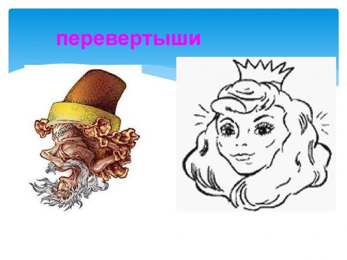 Оригинальные рисунки перевертыши (130 картинок)