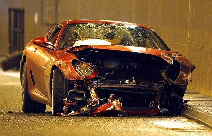 Страшные аварии (100 фото)