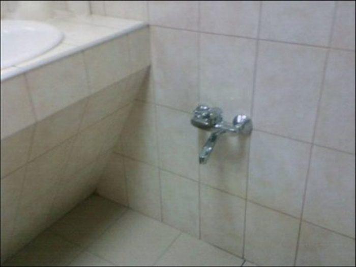 Приколы в ванной (120 картинок)